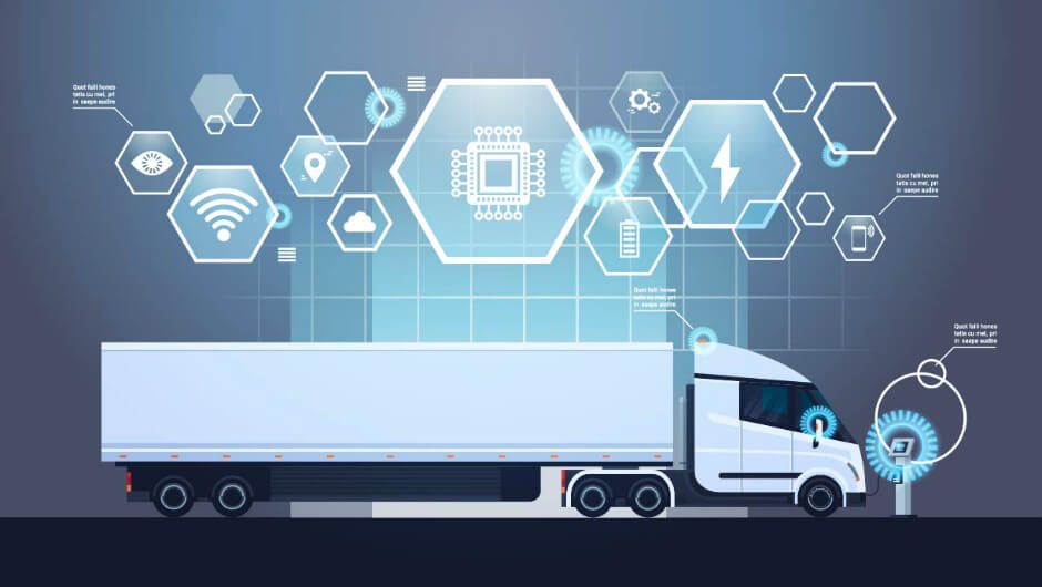 Modern features in the user-friendly logistics app satisfy every user